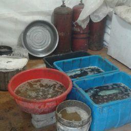 В нелегальном цеху было обнаружено около 6500 особей «морского огурца». Фото пресс-группы Пограничного управления ФСБ России по Приморскому краю