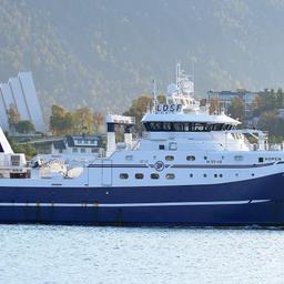 Флагман норвежского тралового флота - траулер «Хупен», построенный в сентябре 2013 г.