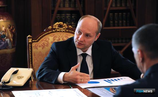 Министр по развитию Дальнего Востока Александр ГАЛУШКА. Фото пресс-службы Кремля