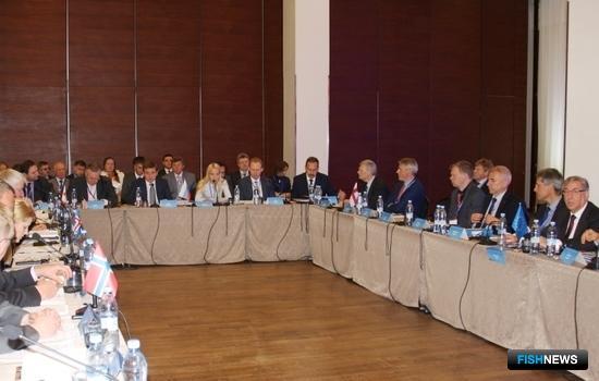 В Санкт-Петербурге начала работу 21-я конференция министров рыболовства стран Северной Атлантики. Фото пресс-службы ФАР