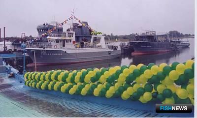 Суда проекта 21280 «Звезда рыбака» и «Звезда удачи»