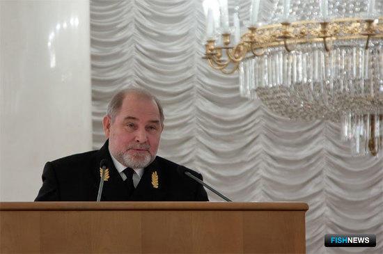 Генеральный директор ТИНРО-Центра Лев БОЧАРОВ