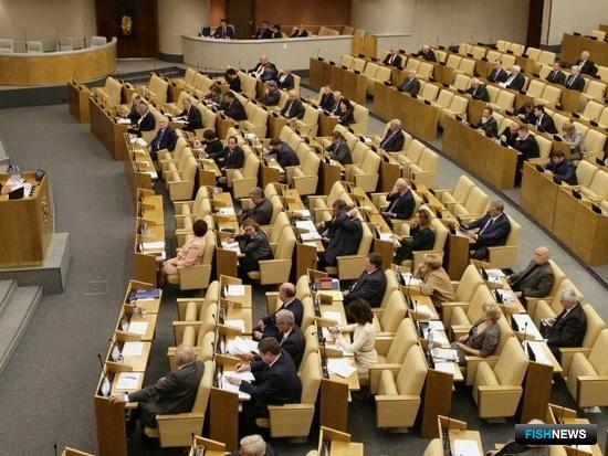 Поправки по пересечению границы для рыбацких судов внесли в Госдуму. Фото пресс-службы ГД