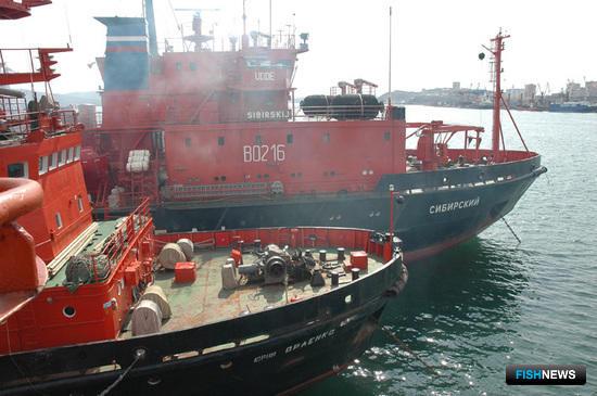 Спасательные отряды выведены из состава рыбводов