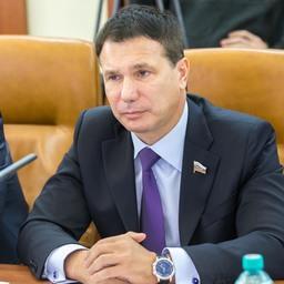 Член Совета Федерации от Республики Карелия Игорь ЗУБАРЕВ. Фото пресс-службы СФ