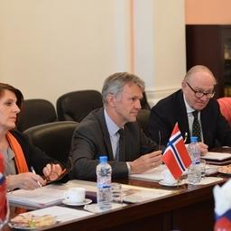 В Федеральном агентстве по рыболовству состоялась встреча с представителями Норвегии. Фото пресс-службы ФАР