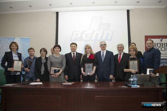 Победители конкурса и руководство РСПП