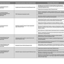 Перечень организаций, ведущих контроль деятельности предприятий, осуществляющих береговую рыбопереработку на территории Дальнего Востока  (Приморский край, ЗАО «Южморрыбфлот»)
