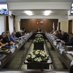 Заседание инвестиционного совета Камчатского края. Фото пресс-службы правительства региона