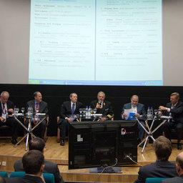 Участники круглого стола «Устойчивое рыболовство в Российской Федерации»