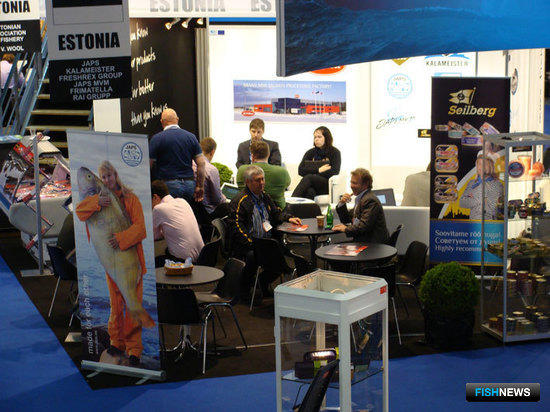 The European Seafood Exposition, Брюссель, май 2011 г.