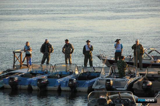 Всероссийский фестиваль «Народная рыбалка», Астраханская область, июль 2012
