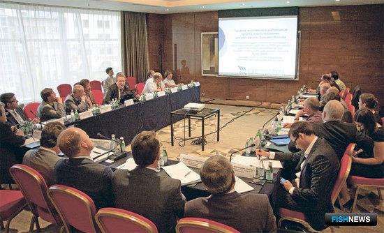 Представители рыбопромышленных предприятий и проектных организаций обсуждают «модельный ряд» судов для новой верфи в Калининградской области