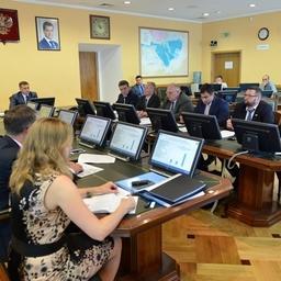 Заседание Совета директоров отраслевых НИИ. Фото пресс-службы Росрыболовства
