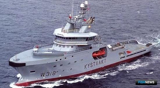 Норвежское патрульное судно M-318 Harstad. Фото из открытых источников