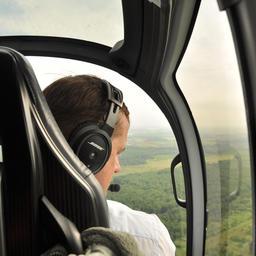 Руководитель Росрыболовства Илья ШЕСТАКОВ принял участие в одном из авиаоблетов Амура