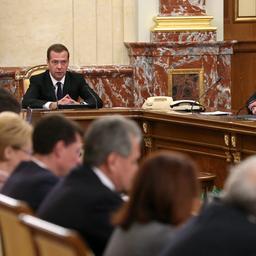 Правительство РФ рассмотрело проекты инвестиционной программы и финансового плана ОАО «Российские железные дороги» на 2016 г. и на плановый период 2017 и 2018 гг. Фото пресс-службы кабмина
