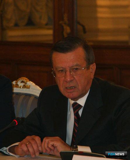 Первый заместитель Председателя Правительства РФ Виктор Зубков. Совещание с представителями рыбохозяйственного комплекса