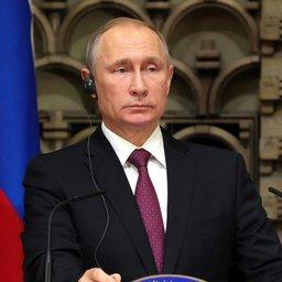Президент РФ Владимир ПУТИН в ходе российско-японских переговоров. Фото пресс-службы Кремля