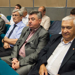 На совещании подвели предварительные итоги работы в первом полугодии 2014 г. и определили задачи на остаток года
