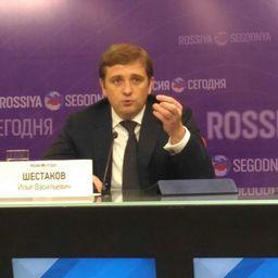 Заместитель министра сельского хозяйства - глава Росрыболовства Илья ШЕСТАКОВ