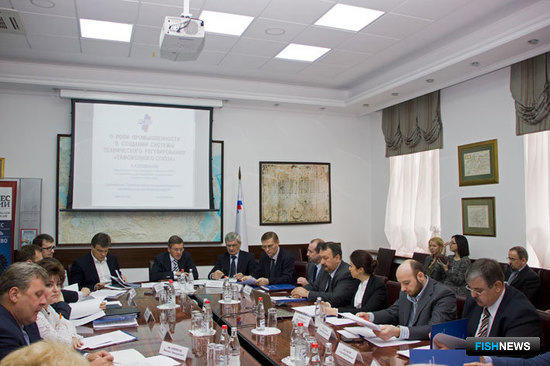 Заседание Комиссии РСПП по рыбному хозяйству и аквакультуре.