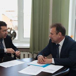 Советник министра сельского хозяйства Григорий ШАЛЯПИН и президент ВАРПЭ Александр ФОМИН