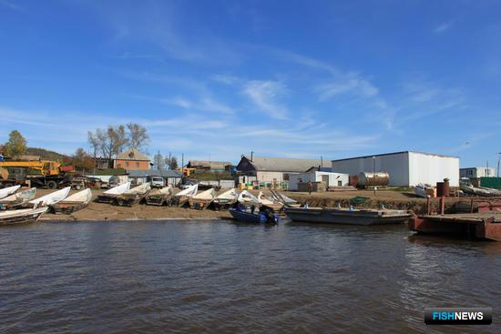 Рыболовецкий колхоз «Имени Куйбышева-2», село Сусанино