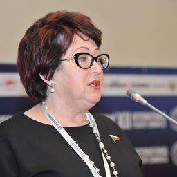 Член Совета Федерации Людмила ТАЛАБАЕВА