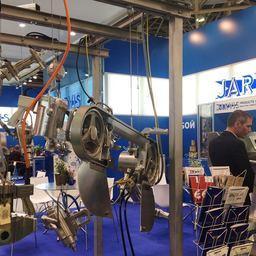 В Москве открылась международная выставка оборудования, машин и ингредиентов для пищевой и перерабатывающей промышленности «Агропродмаш». Фото пресс-службы АО «Экспоцентр»