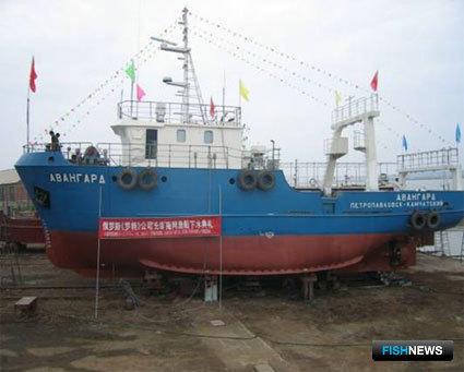 Суда, построенные китайскими верфями по собственным проектам для российских заказчиков: Траулер 27,0х7,0 м с объемом трюма 102 куб.м