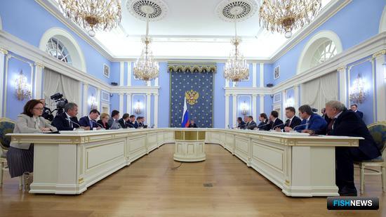 Заседание Правительства России. Фото пресс-службы кабмина