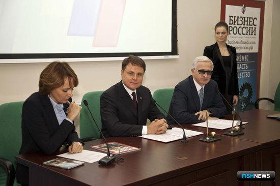 Награждение победителей всероссийского конкурса деловой журналистики РСПП
