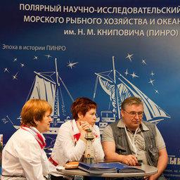 Первая международная рыбохозяйственная выставка «Экспофиш». Москва, май 2011 г.