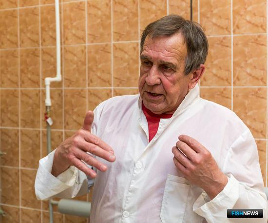Директор рыбоперерабатывающего завода «Фабрика вкуса» – завпроизводством Анатолий СТРАХОВ