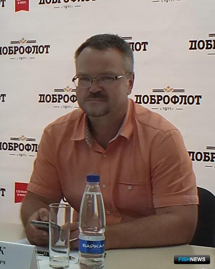 Заместитель директора ТИНРО-Центра Алексей БАЙТАЛЮК