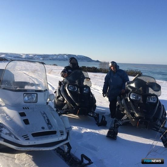 Отделы рыбоохраны Корякского автономного округа получили два новых американских снегохода. Фото пресс-службы Северо-Восточного теруправления Росрыболовства