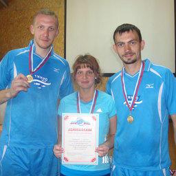 Чемпионы спартакиады в эстафетном беге – команда ТИНРО-Центра