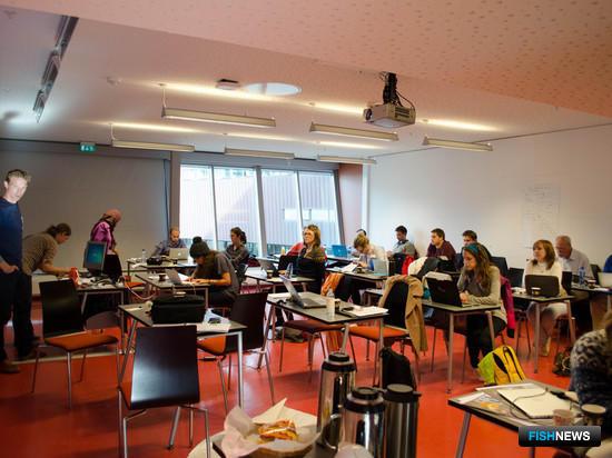 Специалист Мурманского государственного технического университета прошел стажировку в Университетском центре Свальбарда. Фото пресс-центра МГТУ