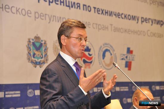 Председатель Комиссии по рыбохозяйственному комплексу и аквакультуре РСПП Герман Зверев