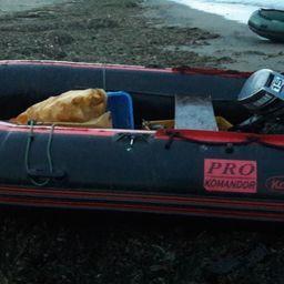 На побережье залива Терпения задержали браконьеров. Фото пресс-службы Пограничного управления ФСБ России по Сахалинской области