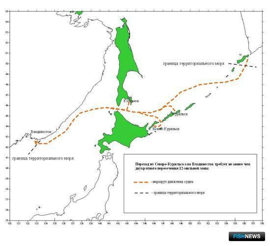 Необходимость оформления неоднократного пересечения границы при транспортировке рыбопродукции