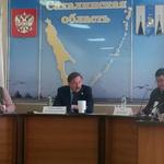 Заместитель руководителя Россельхознадзора Евгений Непоклонов провел на Сахалине совещание с представителями бизнеса