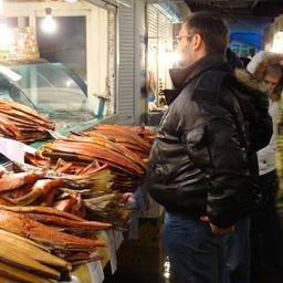 Камчатским продавцам рыбы субсидируют аренду торговых мест