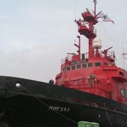 СМБ «Микула». Фото предоставлено Северным экспедиционным отрядом аварийно-спасательных работ Росрыболовства.