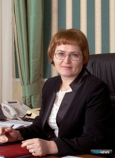 Заместитель руководителя Росрыболовства Надежда Шебина