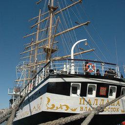 «Паллада» прибыла на Международный фестиваль парусных судов