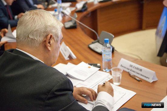 Руководитель Координационного совета «Севрыба» Вячеслав ЗИЛАНОВ