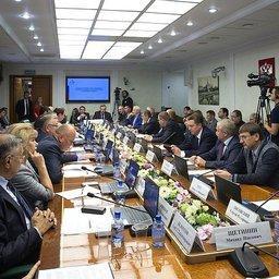 На расширенном заседании Комитета Совета Федерации по аграрно-продовольственной политике и природопользованию рассмотрели проблемы Чукотки. Фото пресс-службы СФ