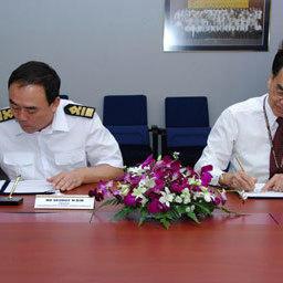 Подписание Меморандума о сотрудничестве между «Дальрыбвтузом» и Сингапурским Политехническим институтом. Сингапур, февраль, 2007